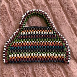 Bead mini purse